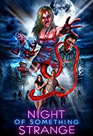 """Night of Something Strange"" movie poster"