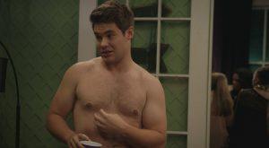 Adam Devine shirtless